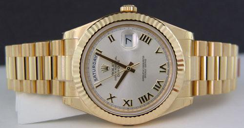 İkinci El Rolex Day Date II Alan Yerler
